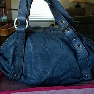 Doncaster beautiful Blue leather purse
